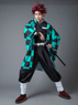 Picture of Demon Slayer: Kimetsu no Yaiba Kamado Tanjirou Cosplay Costume Upgraded Version mp005696