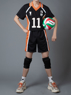 Picture of Ready to Ship Haikyuu Haikyū!! Kei Tsukishima The King Number Eleven  Cosplay Jerseys mp002358
