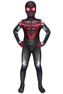 Picture of PS5 Spider-Man: Into the Spider-Verse Miles Morales Cosplay Costume for Kids mp005967