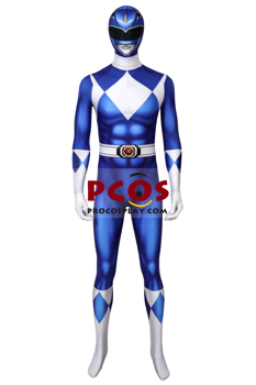 Picture of Ready to Ship Rangers Power Rangers Tricera Ranger Dan Cosplay Jumpsuit mp005960