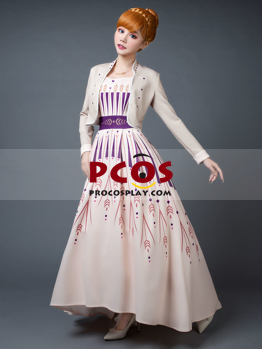 Picture of Ready to Ship Frozen 2 Anna Princess Dress Cosplay Costume mp005901