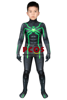 Picture of Spider-man Peter Parker PS4 Cosplay Jumpsuit For Kids mp006049
