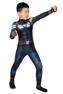 Picture of Captain America 2 Steve Rogers Cosplay Jumpsuit For Kids mp006046