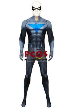 Picture of Ethan Spaulding Nightwing Dick Grayson Cosplay Costume 3D Jumpsuit  mp006051