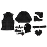 Picture of Ready to Ship 103 Size Spider-Man: Far From Home Spiderman Peter Parker Black Battle Cosplay Costume mp004549