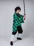 Picture of Ready to Ship Demon Slayer: Kimetsu no Yaiba Kamado Tanjirou Cosplay Costume mp005092
