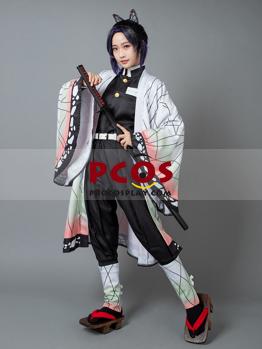 Picture of Ready to Ship Demon Slayer: Kimetsu no Yaiba Kochou Shinobu Cosplay Costume mp005149