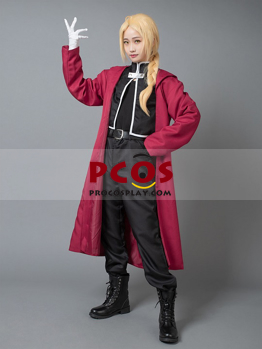 Picture of Ready to Ship Fullmetal Alchemist Cosplay Edward China wholesale mp000290