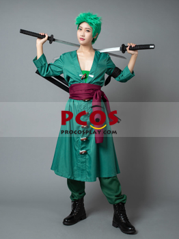 Picture of Ready to Ship One Piece Roronoa Zoro Japanese Anime mp004114 the 2nd Cosplay Costumes mp004114
