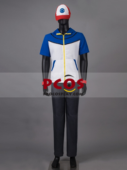 Picture of Ready to Ship Pokemon Pocket Monster Ash Ketchum Cosplay Costume mp003417