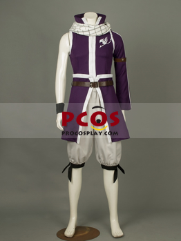 Picture of Ready to Ship Fairy Tail Natsu The Fouth Generation Cosplay Costume mp003328