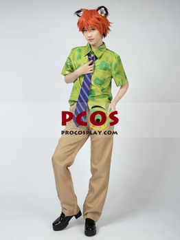 Picture of Ready to Ship Zootopia Zootropolis Fox Nick Cosplay Costume mp004328 On Sale