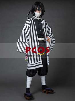 Picture of Demon Slayer: Kimetsu no Yaiba Iguro Obanai  Haori Cosplay Costume Upgrade Version mp006009