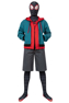 Picture of Spider-Man: Into the Spider-Verse Miles Morales Cosplay Costume Jumpsuit C00201