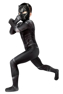 Picture of Civil War T'Challa Black Panther Cosplay Costume Jumpsuit For Kid C00253