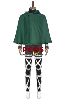 Picture of Attack on Titan Eren & Levi Cosplay Costume C00298