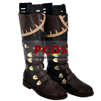Picture of Genshin Impact Diluc Cosplay Shoes Brown Version C00351