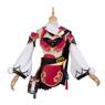 Picture of Game Genshin Impact Smoky Scarlet Yanfei Cosplay Costume C00354