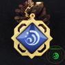 Picture of Genshin Impact Liyue Trinket Eye of God Pendants Glow keychain C00173