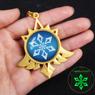 Picture of Genshin Impact Mondstadt Trinket Eye of God Glow Keychain C00366