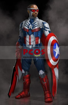 Picture of Deposit The Falcon and the Winter Soldier Sam Captain America Cosplay Costume