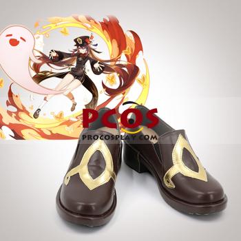 Picture of Genshin Impact HuTao Cosplay Shoes C00381