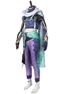 Picture of Genshin Impact Bubu Pharmacy Baizhu Cosplay Costume Satin Version C00437