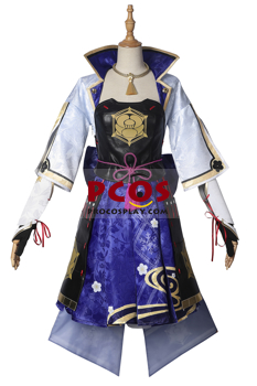 Picture of Genshin Impact  Kamisato Ayaka Cosplay Costume   Jacquard Version C00443