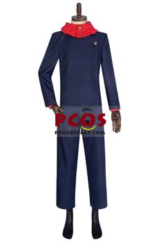 Picture of Jujutsu Kaisen Yuji Itadori Cosplay Costume Upgraded Version C00476