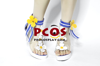 Picture of Genshin Impact Barbara Cosplay Swimsuit Shoes C00498