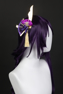 Picture of Genshin Impact Raiden Shogun Cosplay Costume Satin Version C00573