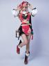 Picture of Game Genshin Impact Yanfei Cosplay Costume Upgraded Version C00480