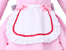 Picture of Nekopara Chocola Cosplay Costume Pink Maid Outfit C00657