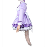 Picture of Nekopara Coconut Cosplay Costume Purple Maid Outfit C00660