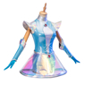 Picture of League of Legends LOL Luxanna Crownguard Lux Space Groove Skin Cosplay Costume C00689