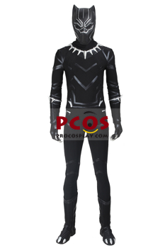 Picture of Captain America: Civil War T'Challa Black Panther Cosplay Costume C00764