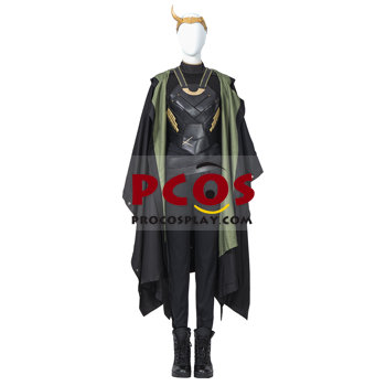 Picture of Ready to Ship TV Show Loki Sylvie Cosplay Costume Dark Green Version C00654