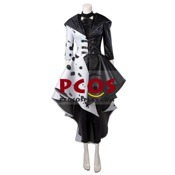 Picture of Ready to Ship Cruella 2021 Cruella De Vil Cosplay Costume C00621